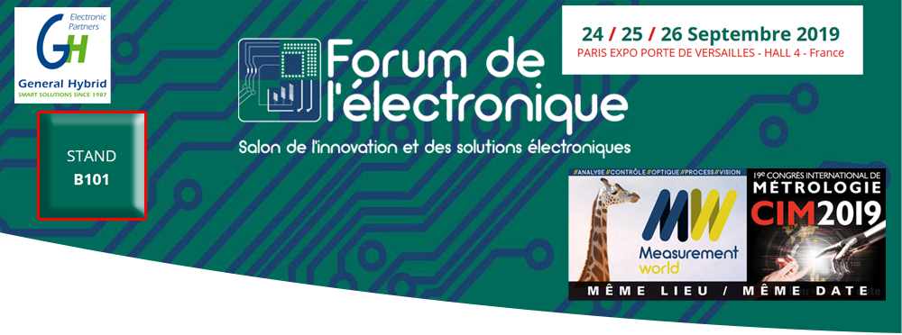 FORUM ELECTRONIQUE PARIS 2019 GENERAL HYBRID